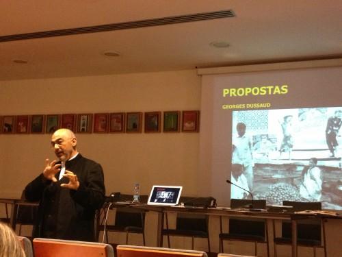 """Seminário """"A Cidade e o Mundo"""", Festival TODOS, com Giacomo Scalisi. 14 de Novembro 2013."""