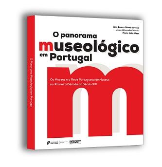 """Capa do livro """"O Panorama Museológico em Portugal"""""""