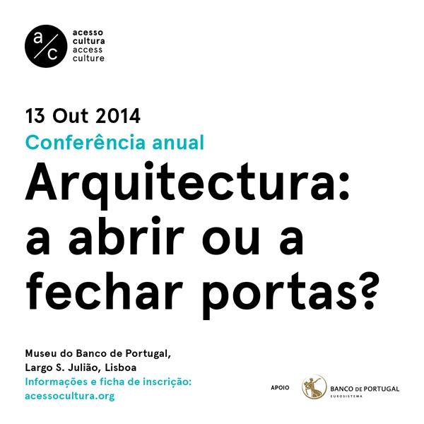 Cartaz da conferência