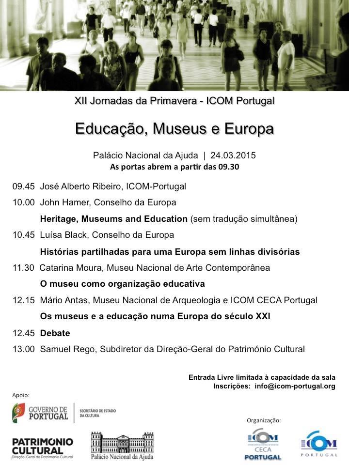 Educação Museus Europa ICOM Portugal