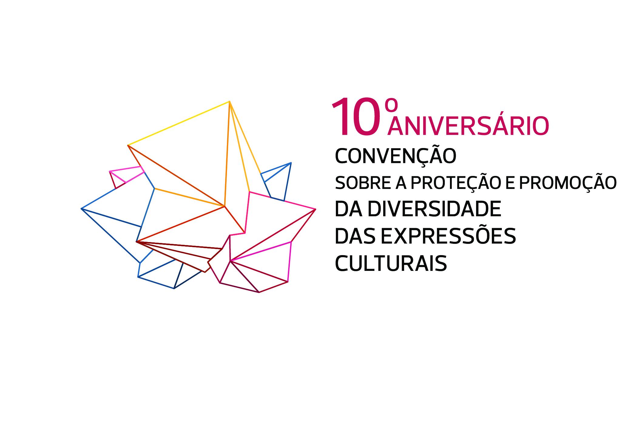 Logótipo celebração diversidade cultural