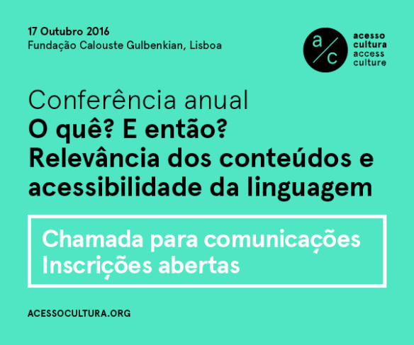 Acesso Cultura - conferencia 2016