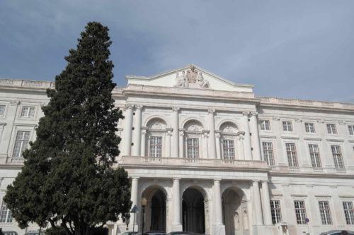 Fachada do Palácio Nacional da Ajuda